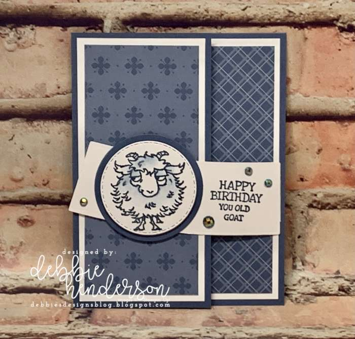 control freaks blog hop stampin up way to goat