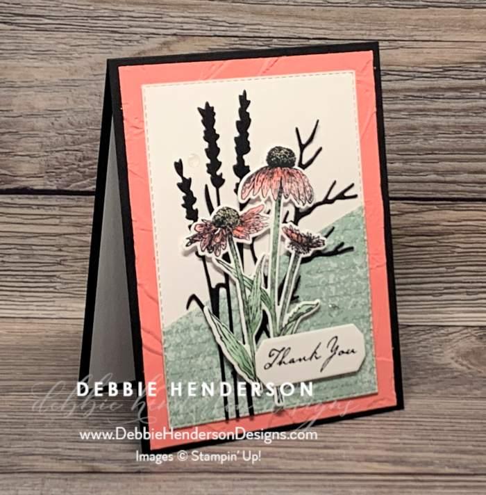 stampin up natures harvest meadow designer paper blog hop