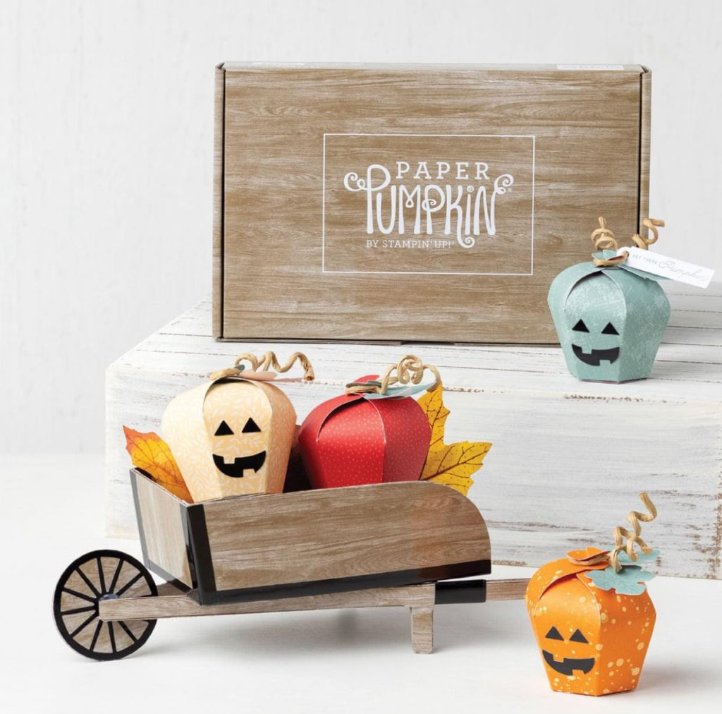 stampin up paper pumpkin alternative projects